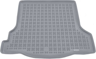 REZAW-PLAST popielaty gumowy dywanik mata do bagażnika Dacia Logan od 2013r. 231371S/Z