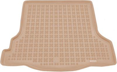 REZAW-PLAST beżowy gumowy dywanik mata do bagażnika Dacia Logan od 2013r. 231371B/Z