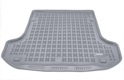 REZAW-PLAST popielaty gumowy dywanik mata do bagażnika Dacia Logan II MCV / Kombi od 2013r. 231374S/Z