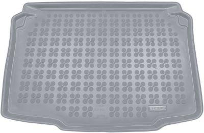 REZAW-PLAST popielaty gumowy dywanik mata do bagażnika Seat Ibiza 5D od 2008-2017r. 231422S/Z