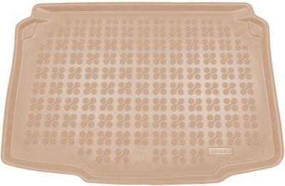 REZAW-PLAST beżowy gumowy dywanik mata do bagażnika Seat Ibiza 5D od 2008-2017r. 231422B/Z