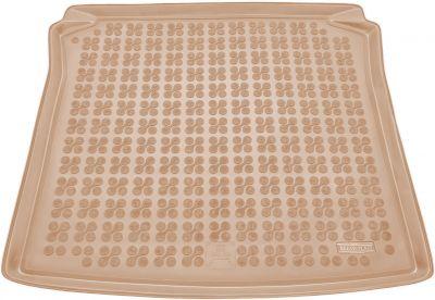 REZAW-PLAST beżowy gumowy dywanik mata do bagażnika Seat Ibiza Kombi od 2010-2017r. 231423B/Z