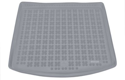 REZAW-PLAST popielaty gumowy dywanik mata do bagażnika Seat Leon ST dolna podłoga bagażnika od 2014r. 231424S/Z
