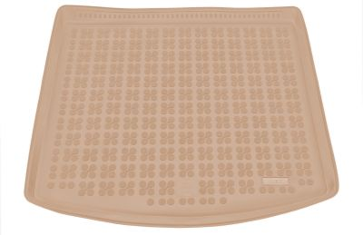 REZAW-PLAST beżowy gumowy dywanik mata do bagażnika Seat Leon ST od 2014r. 231424B/Z