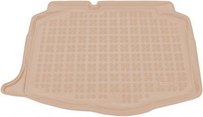REZAW-PLAST beżowy gumowy dywanik mata do bagażnika Seat Ibiza V od 2017r. 231432B/Z