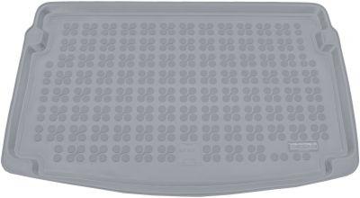 REZAW-PLAST popielaty gumowy dywanik mata do bagażnika Seat Ibiza V (górna podłoga bagażnika) od 2017r. 231433S/Z