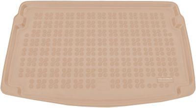 REZAW-PLAST beżowy gumowy dywanik mata do bagażnika Seat Ibiza V (górna podłoga bagażnika) od 2017r. 231433B/Z