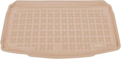 REZAW-PLAST beżowy gumowy dywanik mata do bagażnika Seat Ibiza V (dolna podłoga bagażnika) od 2017r. 231434B/Z