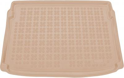 REZAW-PLAST beżowy gumowy dywanik mata do bagażnika Seat Arona (górna podłoga bagażnika) od 2017r. 231435B/Z