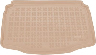 REZAW-PLAST beżowy gumowy dywanik mata do bagażnika Seat Arona (dolna podłoga bagażnika) od 2017r. 231436B/Z