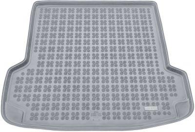 REZAW-PLAST popielaty gumowy dywanik mata do bagażnika Skoda Octavia Tour I od 2005-2010r. 231504S/Z