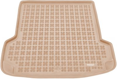 REZAW-PLAST beżowy gumowy dywanik mata do bagażnika Skoda Octavia Tour I od 2005-2010r. 231504B/Z