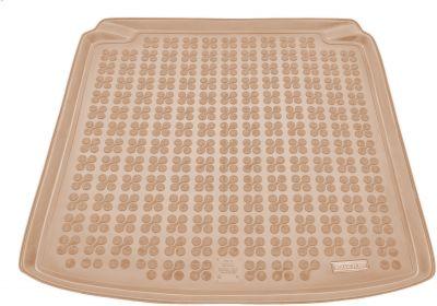 REZAW-PLAST beżowy gumowy dywanik mata do bagażnika Skoda Fabia I Sedan/Kombi od 2000-2008r. 231505B/Z