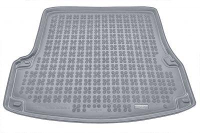 REZAW-PLAST popielaty gumowy dywanik mata do bagażnika Skoda Octavia II Hatchback od 2004-2013r. 231510S/Z