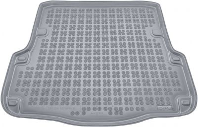 REZAW-PLAST popielaty gumowy dywanik mata do bagażnika Skoda Octavia II Kombi od 2005-2013r. 231511S/Z