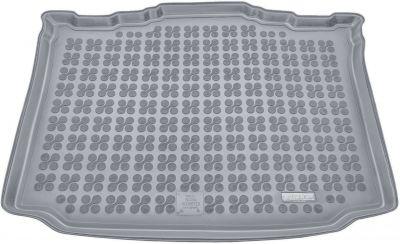 REZAW-PLAST popielaty gumowy dywanik mata do bagażnika Skoda Roomster od 2006r. 231513S/Z