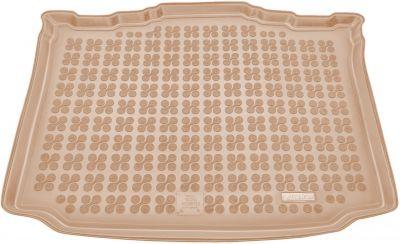 REZAW-PLAST beżowy gumowy dywanik mata do bagażnika Skoda Roomster od 2006r. 231513B/Z