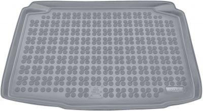 REZAW-PLAST popielaty gumowy dywanik mata do bagażnika Skoda Fabia II Hatchback od 2007-2014r. 231514S/Z