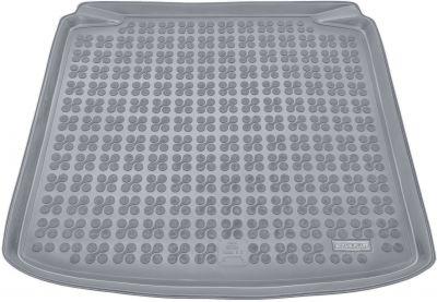 REZAW-PLAST popielaty gumowy dywanik mata do bagażnika Skoda Fabia II Kombi od 2007-2014r. 231515S/Z
