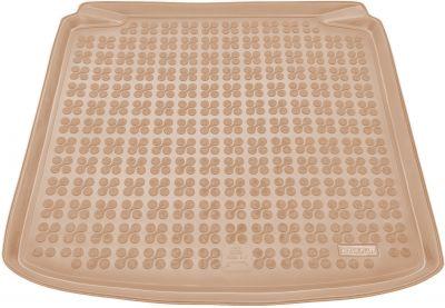 REZAW-PLAST beżowy gumowy dywanik mata do bagażnika Skoda Fabia II Kombi od 2007-2014r. 231515B/Z