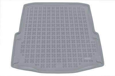 REZAW-PLAST popielaty gumowy dywanik mata do bagażnika Skoda SuperB II 2008-2015r. 231517S/Z