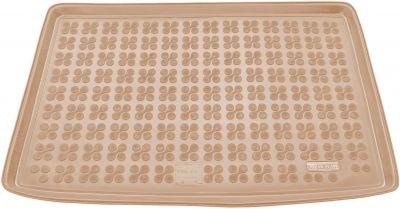 REZAW-PLAST beżowy gumowy dywanik mata do bagażnika Skoda Yeti od 2009r. 231518B/Z