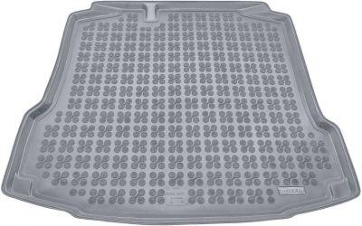 REZAW-PLAST popielaty gumowy dywanik mata do bagażnika Skoda Rapid od 2012r. 231520S/Z