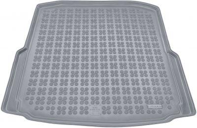 REZAW-PLAST popielaty gumowy dywanik mata do bagażnika Skoda Octavia III Hatchback od 2013r. 231521S/Z