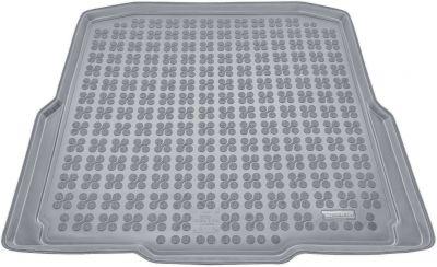 REZAW-PLAST popielaty gumowy dywanik mata do bagażnika Skoda Octavia III Kombi od 2013r. 231522S/Z