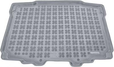 REZAW-PLAST popielaty gumowy dywanik mata do bagażnika Skoda Yeti od 2009r. 231524S/Z