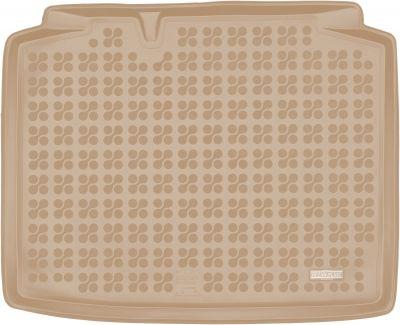 REZAW-PLAST beżowy gumowy dywanik mata do bagażnika Skoda Rapid Spaceback od 2013r. 231525B/Z