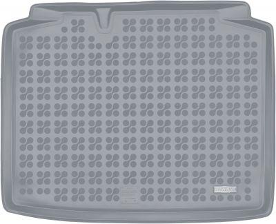 REZAW-PLAST popielaty gumowy dywanik mata do bagażnika Skoda Rapid Spaceback od 2013r. 231525S/Z