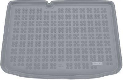 REZAW-PLAST popielaty gumowy dywanik mata do bagażnika Skoda Fabia III Hatchback od 2014r. 231526S/Z