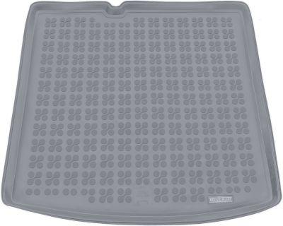 REZAW-PLAST popielaty gumowy dywanik mata do bagażnika Skoda Fabia III Kombi od 2014r. 231527S/Z