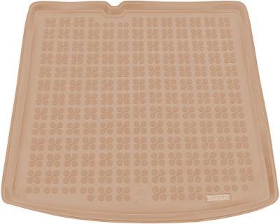 REZAW-PLAST beżowy gumowy dywanik mata do bagażnika Skoda Fabia III Kombi od 2014r. 231527B/Z