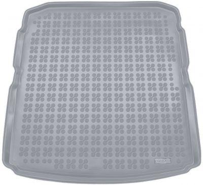 REZAW-PLAST popielaty gumowy dywanik mata do bagażnika Skoda SuperB III Liftback od 2015r. 231528S/Z