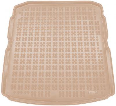 REZAW-PLAST beżowy gumowy dywanik mata do bagażnika Skoda SuperB III Liftback od 2015r. 231528B/Z