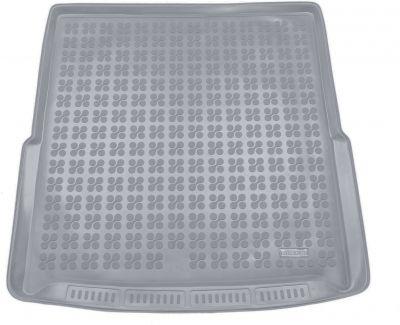 REZAW-PLAST popielaty gumowy dywanik mata do bagażnika Skoda SuperB III Kombi (górna podłoga bagażnika) od 2015r. 231529S/Z