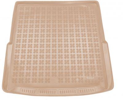 REZAW-PLAST beżowy gumowy dywanik mata do bagażnika Skoda SuperB III Kombi od 2015r. 231529B/Z