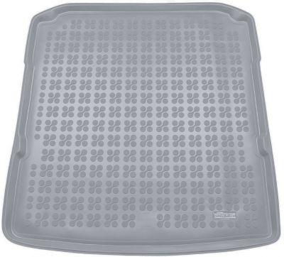 REZAW-PLAST popielaty gumowy dywanik mata do bagażnika Skoda SuperB III Kombi (dolna podłoga bagażnika) od 2015r. 231530S/Z