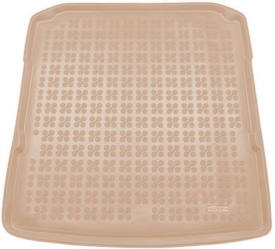 REZAW-PLAST beżowy gumowy dywanik mata do bagażnika Skoda SuperB III Kombi od 2015r. 231530B/Z