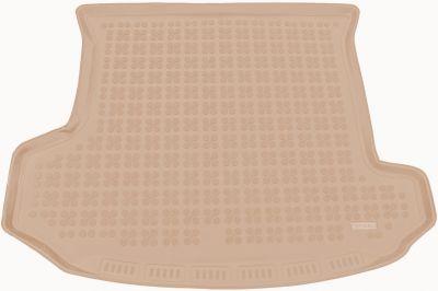 REZAW-PLAST beżowy gumowy dywanik mata do bagażnika Skoda Kodiaq 7os. od 2016r. 231531B/Z