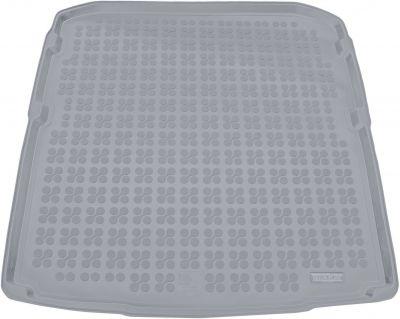 REZAW-PLAST popielaty gumowy dywanik mata do bagażnika Skoda SuperB III Kombi od 2015r. 231533S/Z