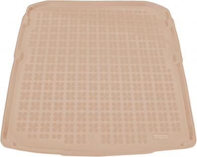 REZAW-PLAST beżowy gumowy dywanik mata do bagażnika Skoda SuperB III Kombi od 2015r. 231533B/Z