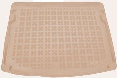 REZAW-PLAST beżowy gumowy dywanik mata do bagażnika Skoda Karoq od 2017r. 231534B/Z