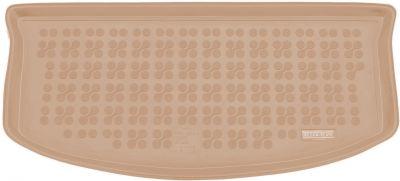 REZAW-PLAST beżowy gumowy dywanik mata do bagażnika Opel Agila B od 04/2008-2014r. 231615B/Z