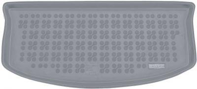 REZAW-PLAST popielaty gumowy dywanik mata do bagażnika Suzuki Splash 5os. (górna podłoga bagażnika) od 2008-2014r. 231615S/Z