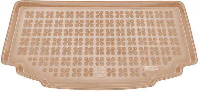 REZAW-PLAST beżowy gumowy dywanik mata do bagażnika Suzuki Alto od 2010r. 231617B/Z