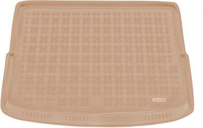 REZAW-PLAST beżowy gumowy dywanik mata do bagażnika Suzuki Vitara II od 2014r. 231621B/Z
