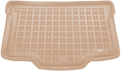 REZAW-PLAST beżowy gumowy dywanik mata do bagażnika Suzuki Baleno (dolna podłoga bagażnika) od 2016r. 231624B/Z